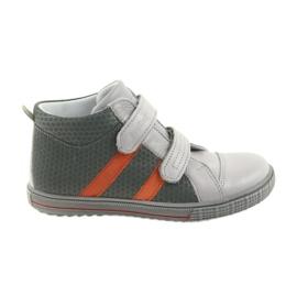 Ren But Boote cipő tépőzáras csizma Ren 4275 szürke / narancs