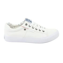 A Big Star férfi cipők fehérhez kötöttek 174097