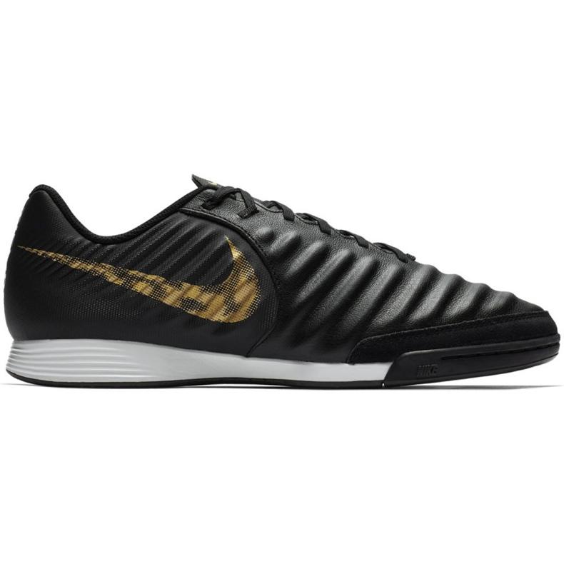 Beltéri cipő Nike Tiempo Legend 7 Academy Ic M AH7244-077 fekete fekete
