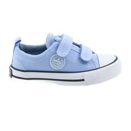 Tépőzáras cipők American Club LH50 kék gyermekcipő