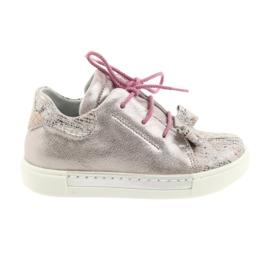 Ren But Rajnabőr cipő 3303 gyöngy rózsaszín