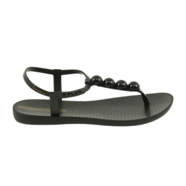 Ipanema szandál női cipő papucsok golyóval 82517 fekete