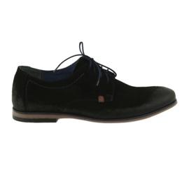 Férfi velúr cipő Nikopol 1709 fekete