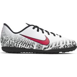 Nike Mercurial Neymar Vapor 12 Club Tf Jr AV4764-170 futballcipő fehér fehér