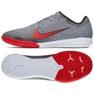 Nike Mercurial Vapor 12 beltéri cipő Neymar Pro Ic M AO4496-170 szürke szürke / ezüst