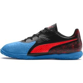 Beltéri cipő Puma One 19.4 It Jr 105504 01 fekete, fekete fekete