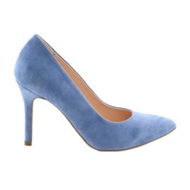 Szivattyúk a tűn Edeo 3313 kék női cipő