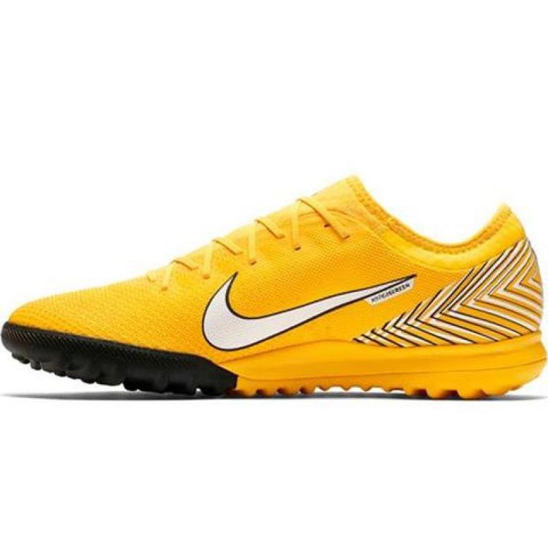 Nike Mercurial Vapor 12 Pro Neymar Tf AO4703-710 futballcipő sárga sárga