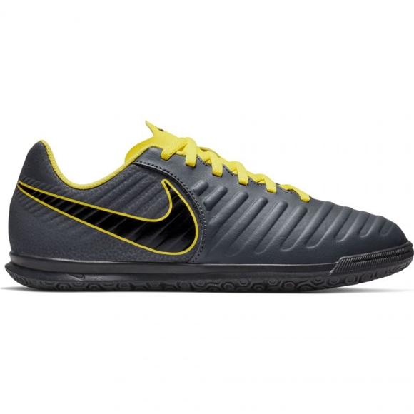 Beltéri cipő Nike Tiempo Legend 7 Club Ic Jr AH7260-070 szürke grafit