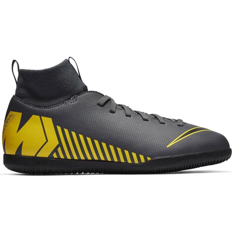 Beltéri cipő Nike Mercurial Superfly X 6 Club Ic Jr AH7346-070 szürke fekete