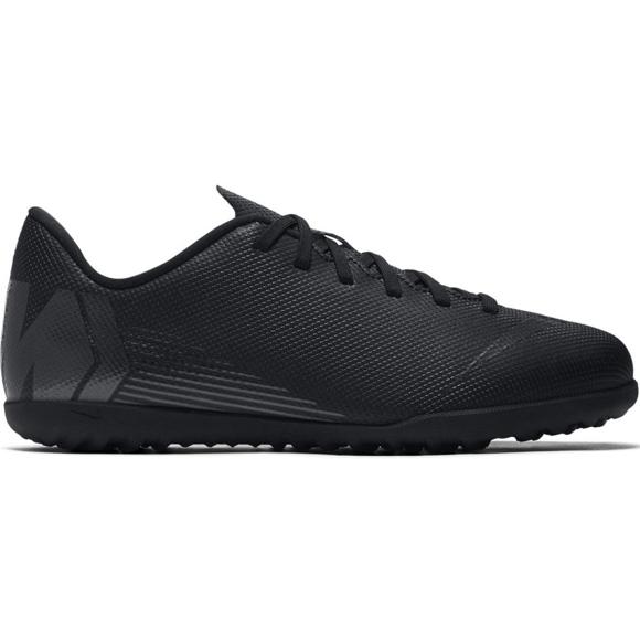 Nike Mercurial Vapor X 12 Club Tf Jr AH7355-001 labdarúgó cipő fekete fekete