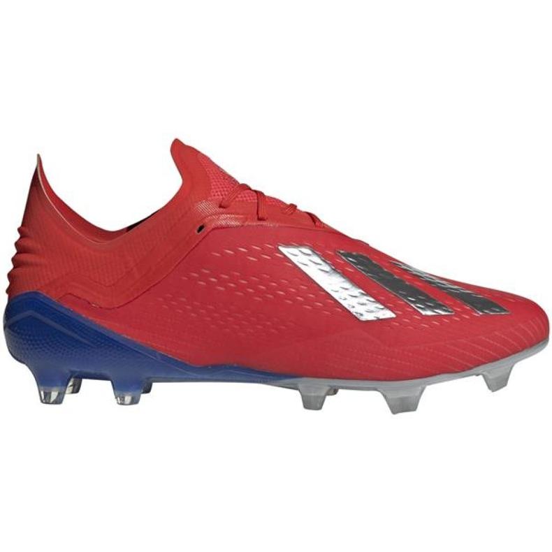 Foci cipő adidas X 18.1 Fg M BB9347 piros piros