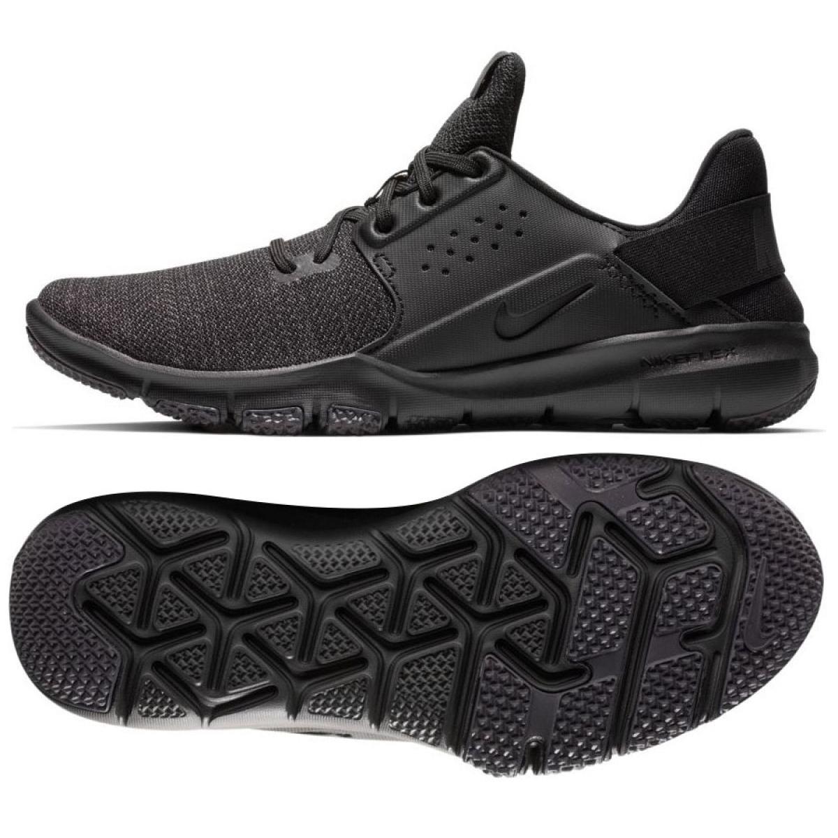 Nike Nike Flex Control 3 M AJ5911 002 edzőcipő fekete