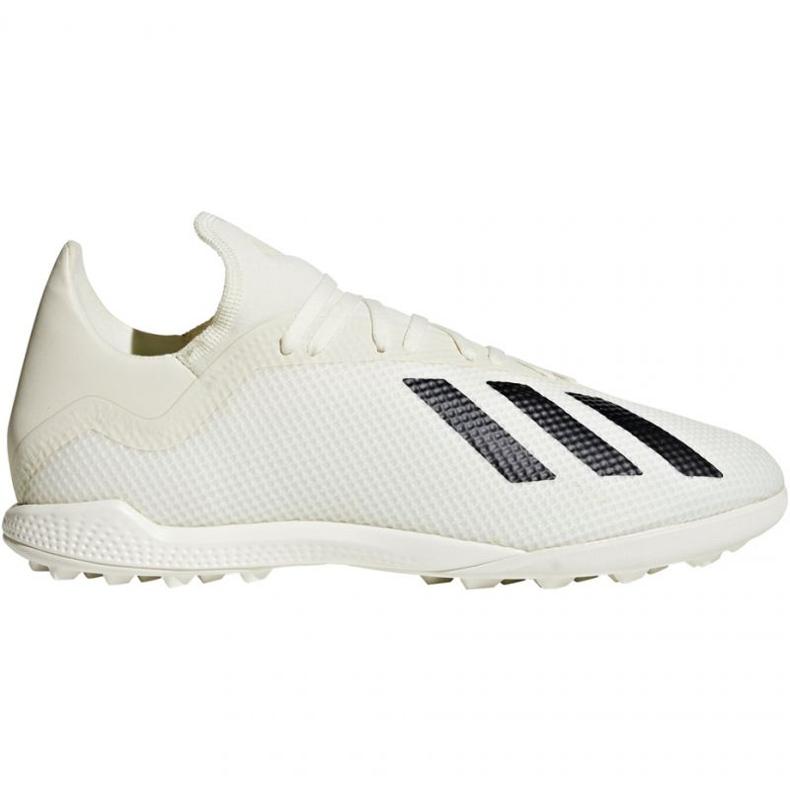 Adidas X Tango 18.3 Tf M DB2474 futballcipő fehér fehér