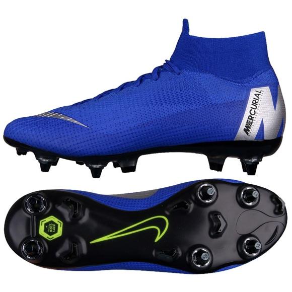 Labdarúgás cipő Nike Mercurial Superfly 6 Elite SG-Pro M AH7366-400 kék kék