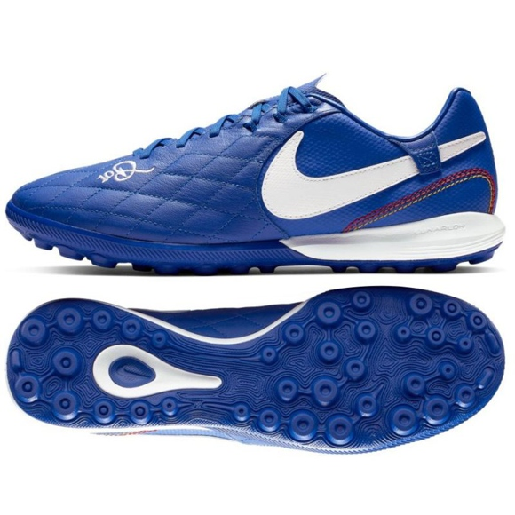 Nike Tiempo Lunar LegendX 7 Pro 10R Tf M AQ2212-410 futballcipő kék kék