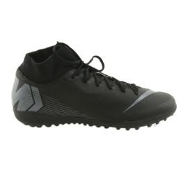 Nike Mercurial SuperflyX 6 Academy TF M AH7370-001 futballcipő fekete fekete