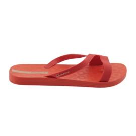 Ipanema Női papucs Grendha 26263 piros