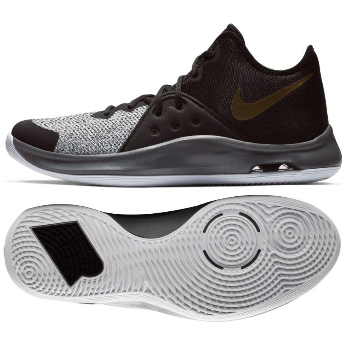 Kosárlabda cipő Nike Air Versitile Iii M AO4430 005 fekete fekete