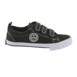 Bársony cipők American Club fekete