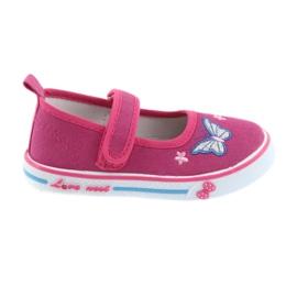 Rózsaszín balerinos cipők, Atletico bőr talpbetét