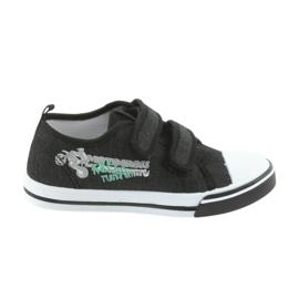 Tépőzáras cipők Motocross Atletico 1809 fekete