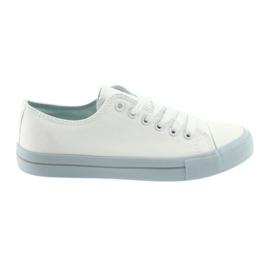 Cipők Atletico 18916 fehér / kék