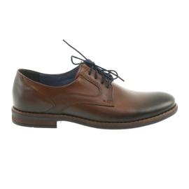 Férfi férfi cipő Nikopol 1712 barna