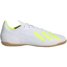 Beltéri cipő adidas X 18.4 M BB9407-ben fehér sokszínű