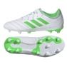 Adidas Copa 19.3 Fg Jr D98081 futballcipő fehér, zöld fehér