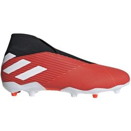 Foci csizma adidas Nemeziz 19.3 Ll Fg M F99997 piros piros