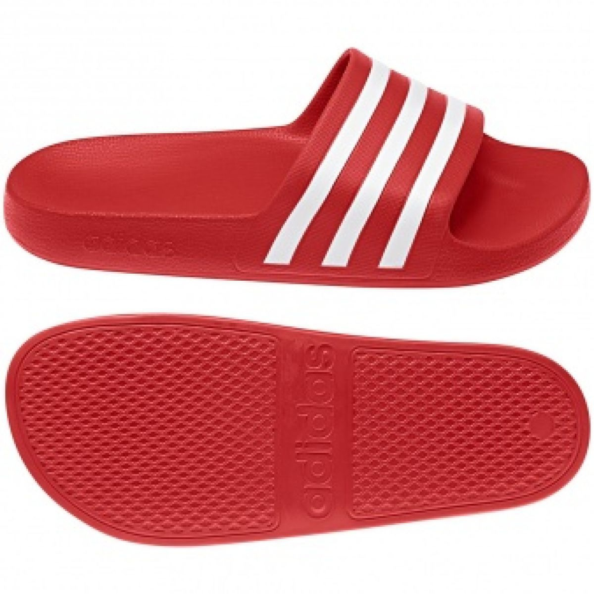 Adidas Adilette Aqua F35540 papucs piros
