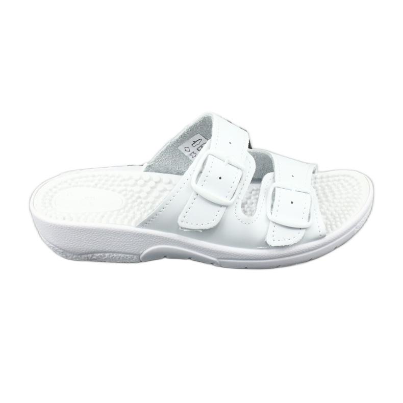 Flip flops fehér egészségügyi Comfooty Nadia