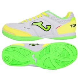 Beltéri cipő Joma Top Flex 920 A TOPW.920.IN-ban fehér, zöld, sárga fehér