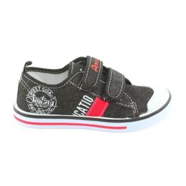 Tépőzáras cipők American Club fekete farmer