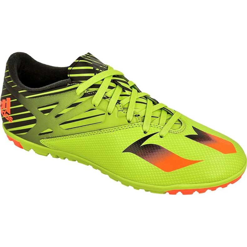 Adidas Messi 15.3 Tf M S74696 futballcipő zöld zöld