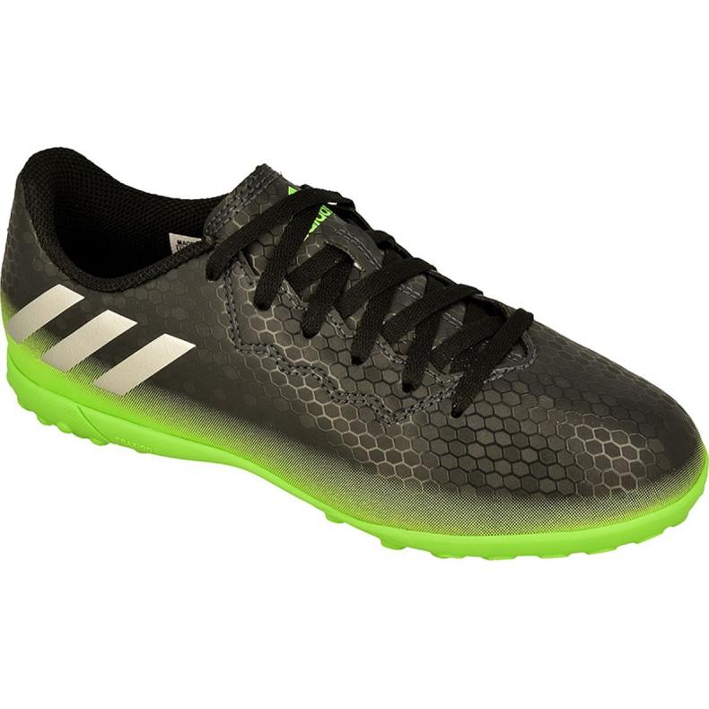 Adidas Messi 16.4 Tf Jr AQ3515 futballcipő fekete fekete