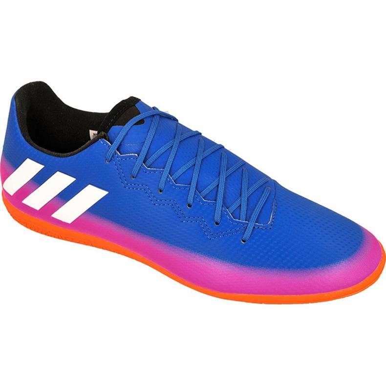 Adidas Messi 16.3 az M BA9018 beltéri cipőben kék kék