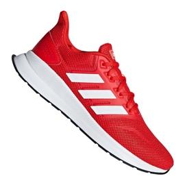 Adidas Runfalcon M F36202 edzőcipő piros