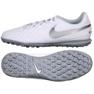 Labdarúgás cipő Nike Tiempo Legend 8 Academy Club Tf M AT6109-100 fehér fehér