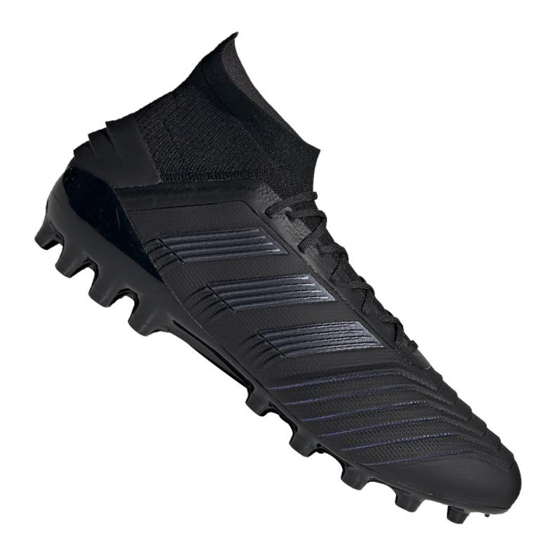 Adidas Predator 19.1 Ag M EF8982 futballcipő fekete fekete