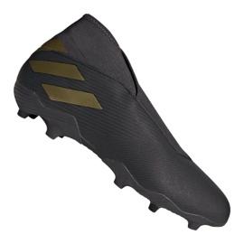 Adidas Nemeziz 19,3 Ll Fg M EF0371 futballcipő fekete fekete