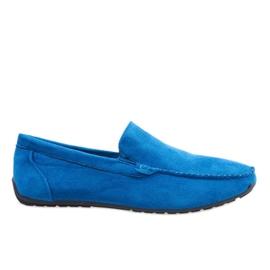 Sötétkék, elegáns cipőcipő AB07-6
