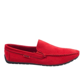 Piros elegáns cipzáras AB96K-2