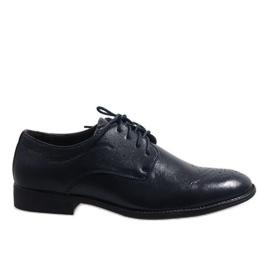 Haditengerészet Sötétkék elegáns cipő D181502B