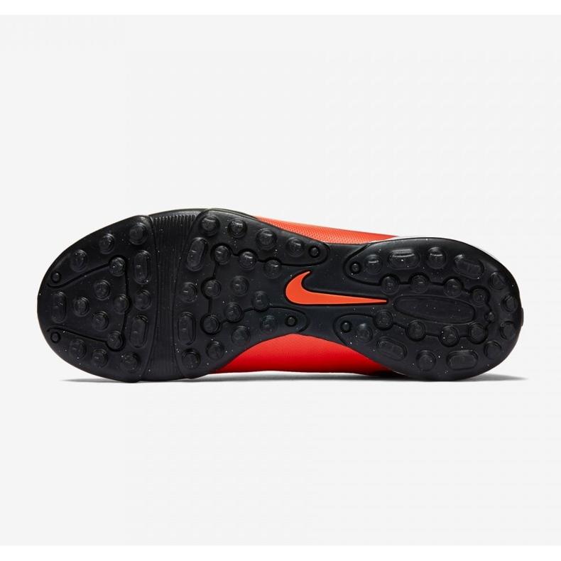 Labdarúgás cipő Nike Mercurial Vortex Ii Tf Jr 651644-650 piros piros