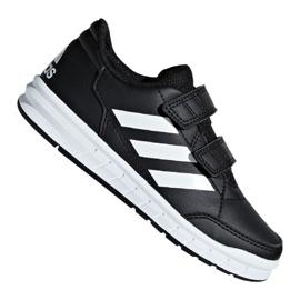 Fekete Adidas AltaSport Cf Jr D96829 cipő