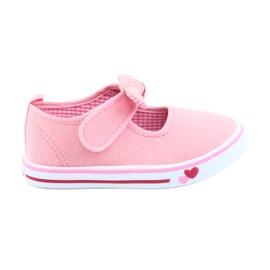 American Club Cipők cipők TEN42 íj rózsaszín