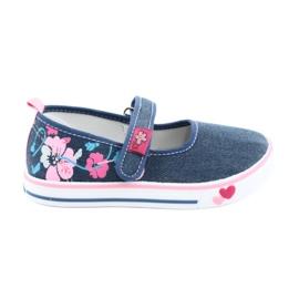 American Club Cipők cipők tépőzáras TEN15 kék