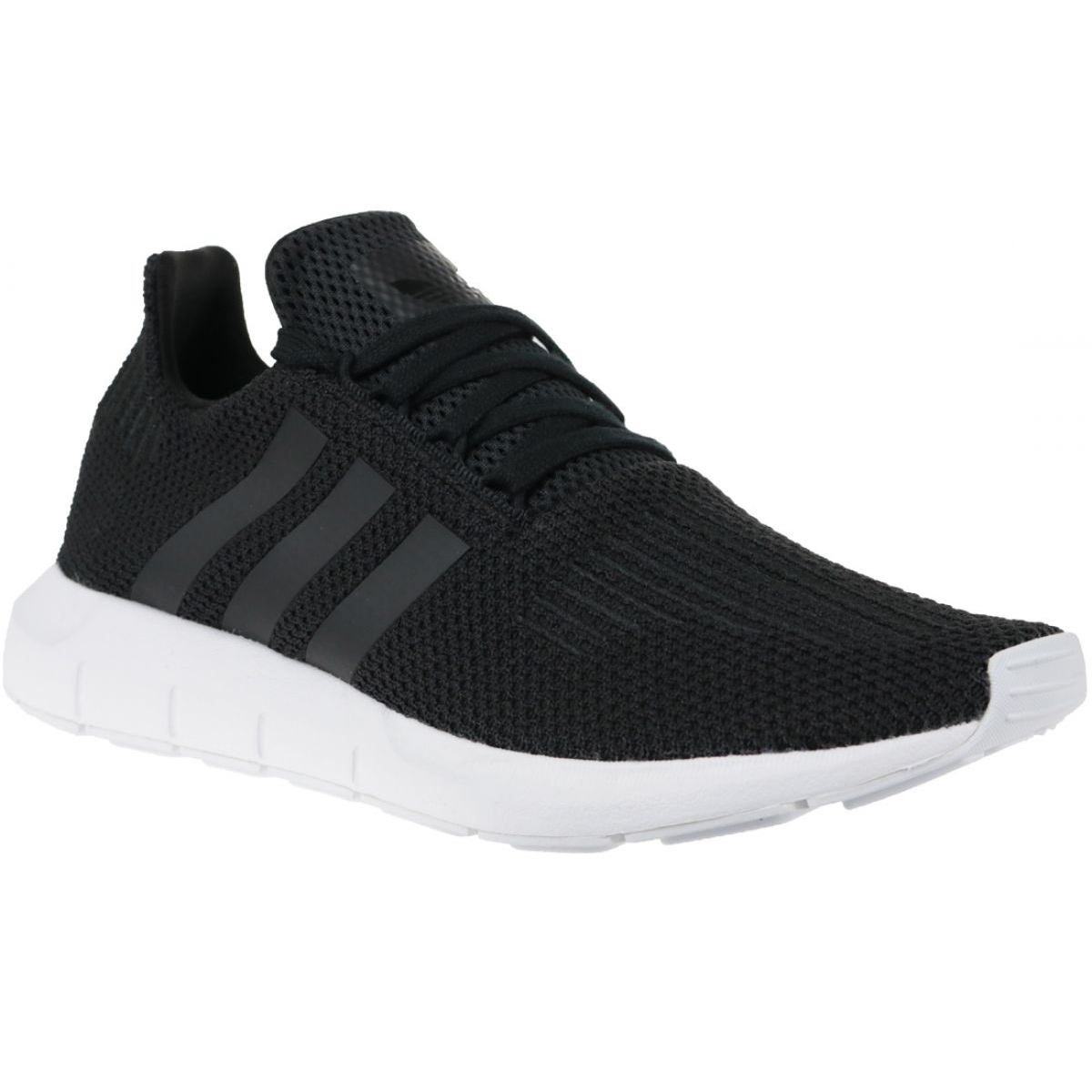 Női Adidas Swift Run Primeknit Originals Cipő Fekete Szürke